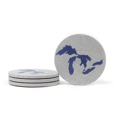 Great Lakes Coaster Set
