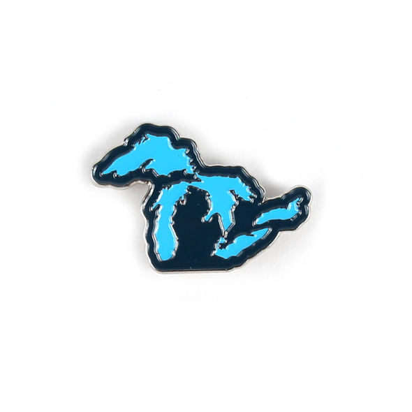Great Lakes Enamel Pin