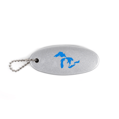 Great Lakes Boat Keychain