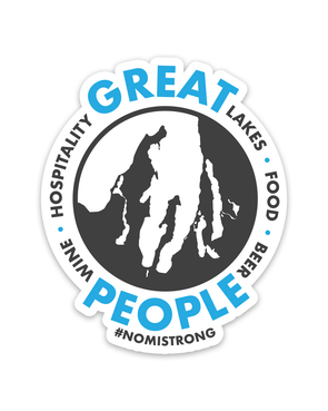 Great People Sticker