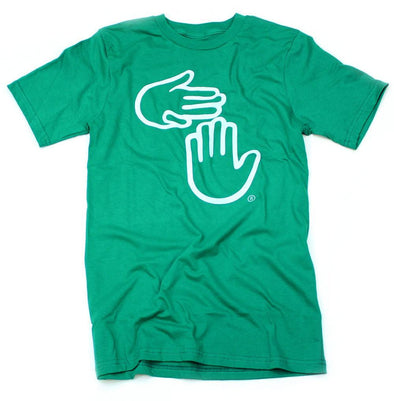 Michigan Hands Tee (Kelly)