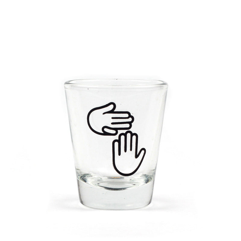 High Five Shot Glass