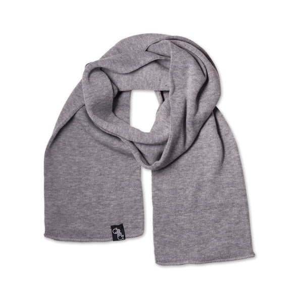 Knit Scarf (Heather Grey)