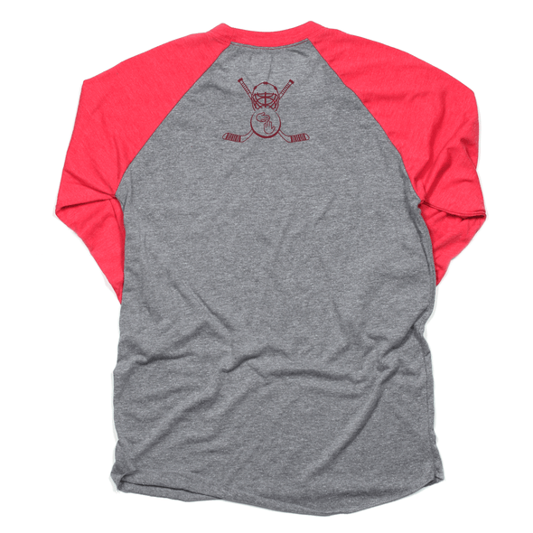 Hockey in the Glove Raglan