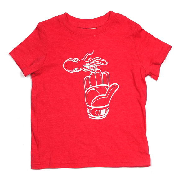 Hockey in the Glove Toddler Tee