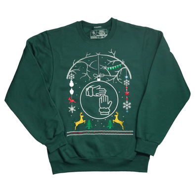 2017 Christmas Sweater (Christmas Tree Green)