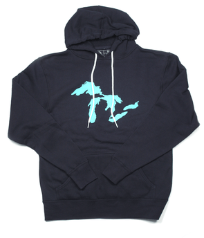 Keep It Fresh Pullover Hoodie (Navy)