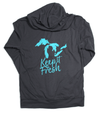 Keep it Fresh Lightweight Zip (Asphalt)