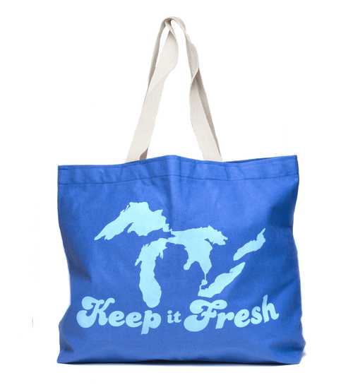 Keep It Fresh Jumbo Canvas Tote