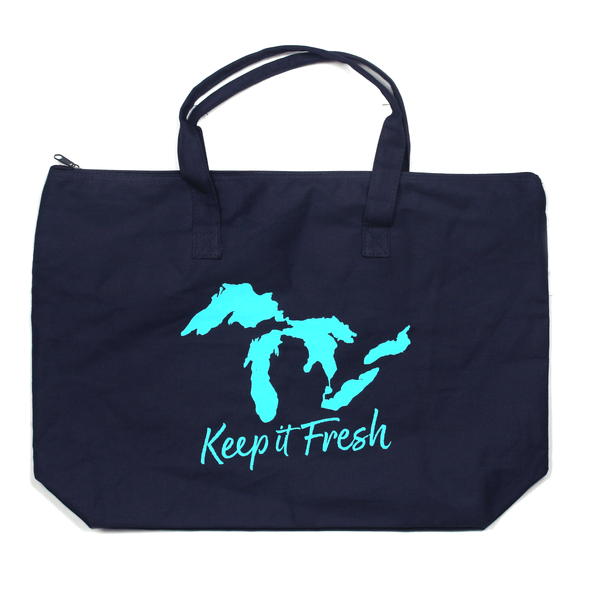 Keep it Fresh Zippered Tote
