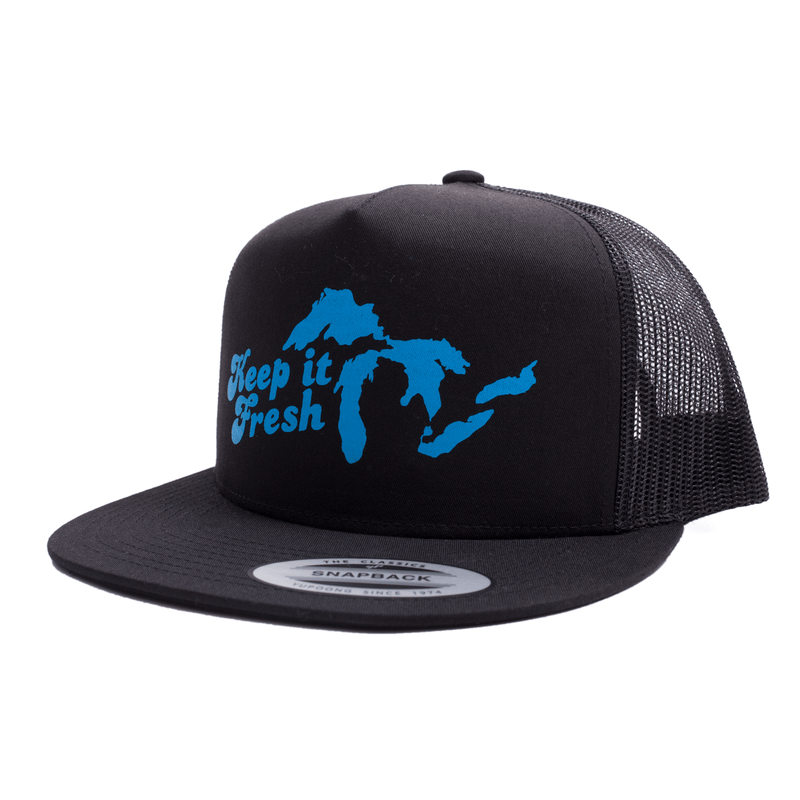Keep it Fresh Trucker (Black)