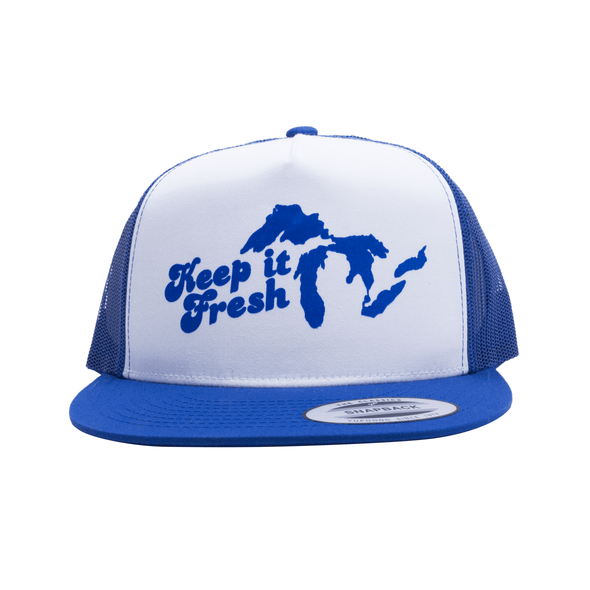 Keep It Fresh Trucker (Royal)