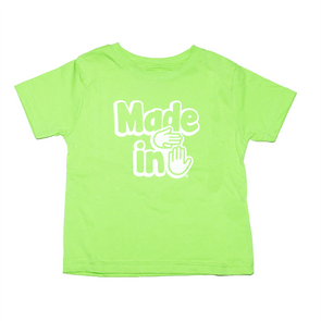 Made in Michigan Toddler (Key Lime)