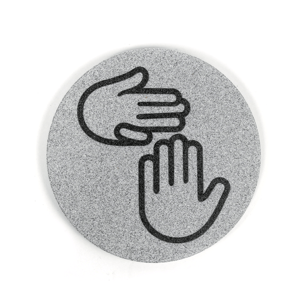 Michigan Hands Coaster Set
