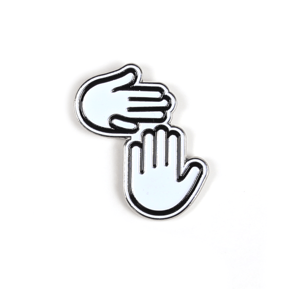 Michigan Hands Enamel Pin