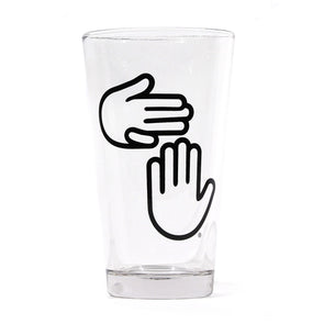 High Five Logo Pints