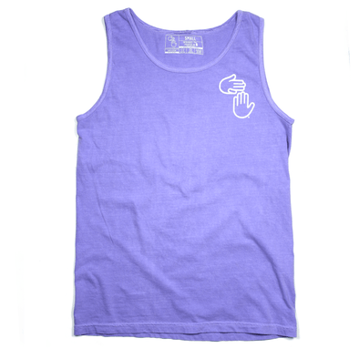 Michigan Hands Vintage Tank (Purple)