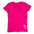 Women's Michigan Hands Tee (Fuchsia)