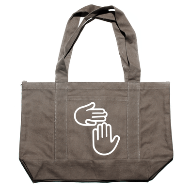 Michigan Hands Tote (Khaki Green)