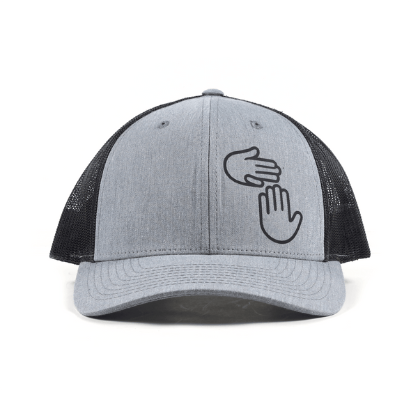 Low Profile Trucker (Heather Grey/Black)