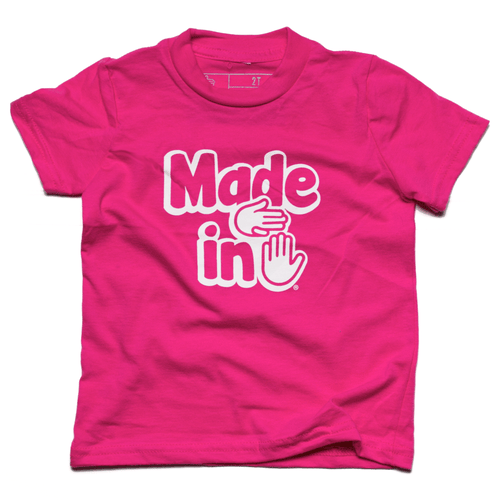 Made in Michigan Toddler (Fuchsia)