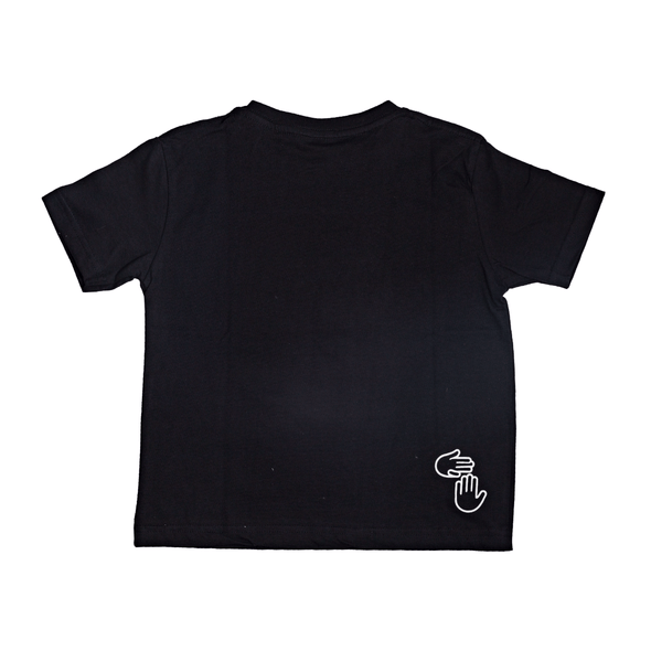 Michigan Hands Toddler Tee (Black)