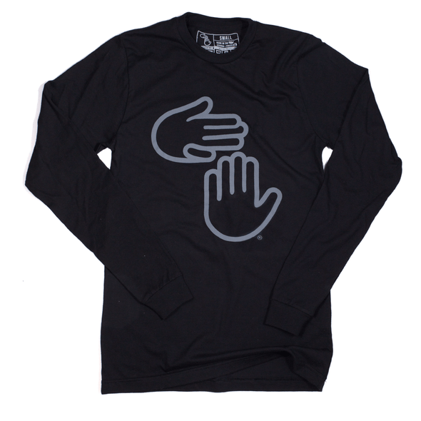 Michigan Hands Long Sleeve (Black)