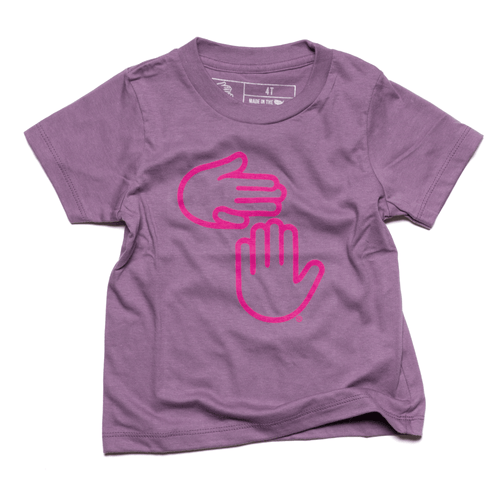 Michigan Hands Youth Tee (Grape)