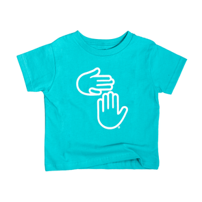 Michigan Hands Youth Tee (Leland Blue)