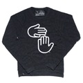 Michigan Hands Crewneck (Tri Onyx)