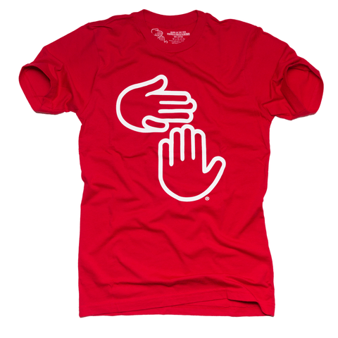 Michigan Hands Tee (Red)