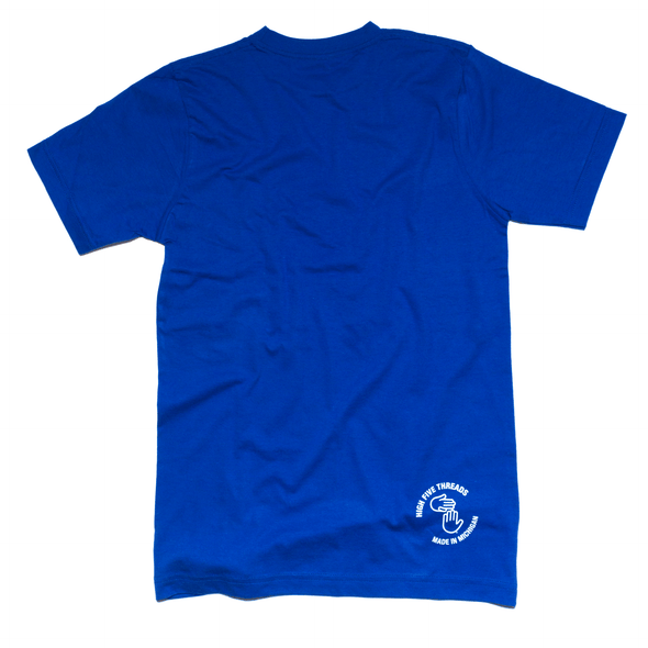 Michigan Hands Tee (Royal Blue)