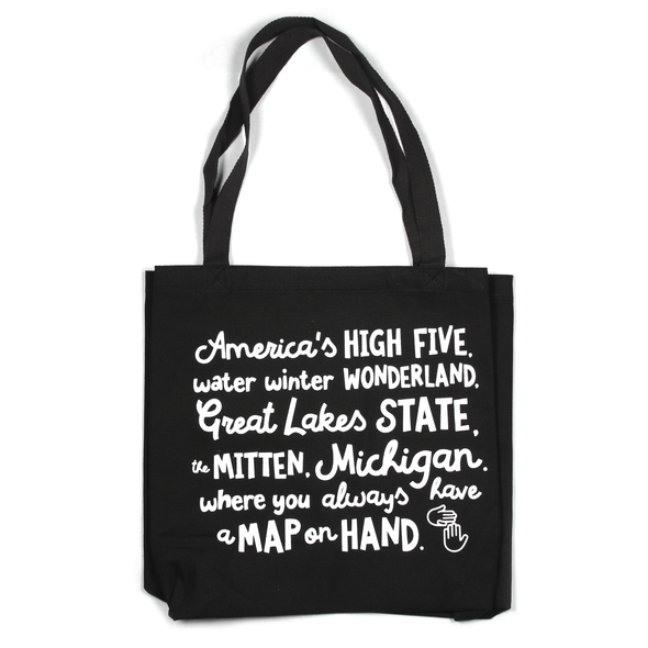 Map on Hand Tote