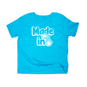 Made in Michigan Toddler (Lake Blue)