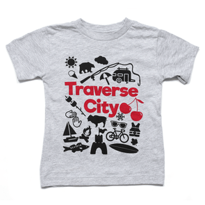 Traverse City: More than Cherries Toddler Tee