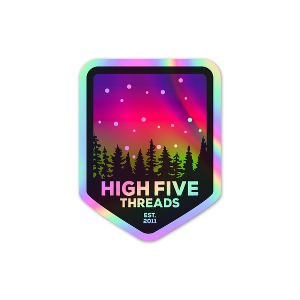 Holographic Northern Lights Sticker