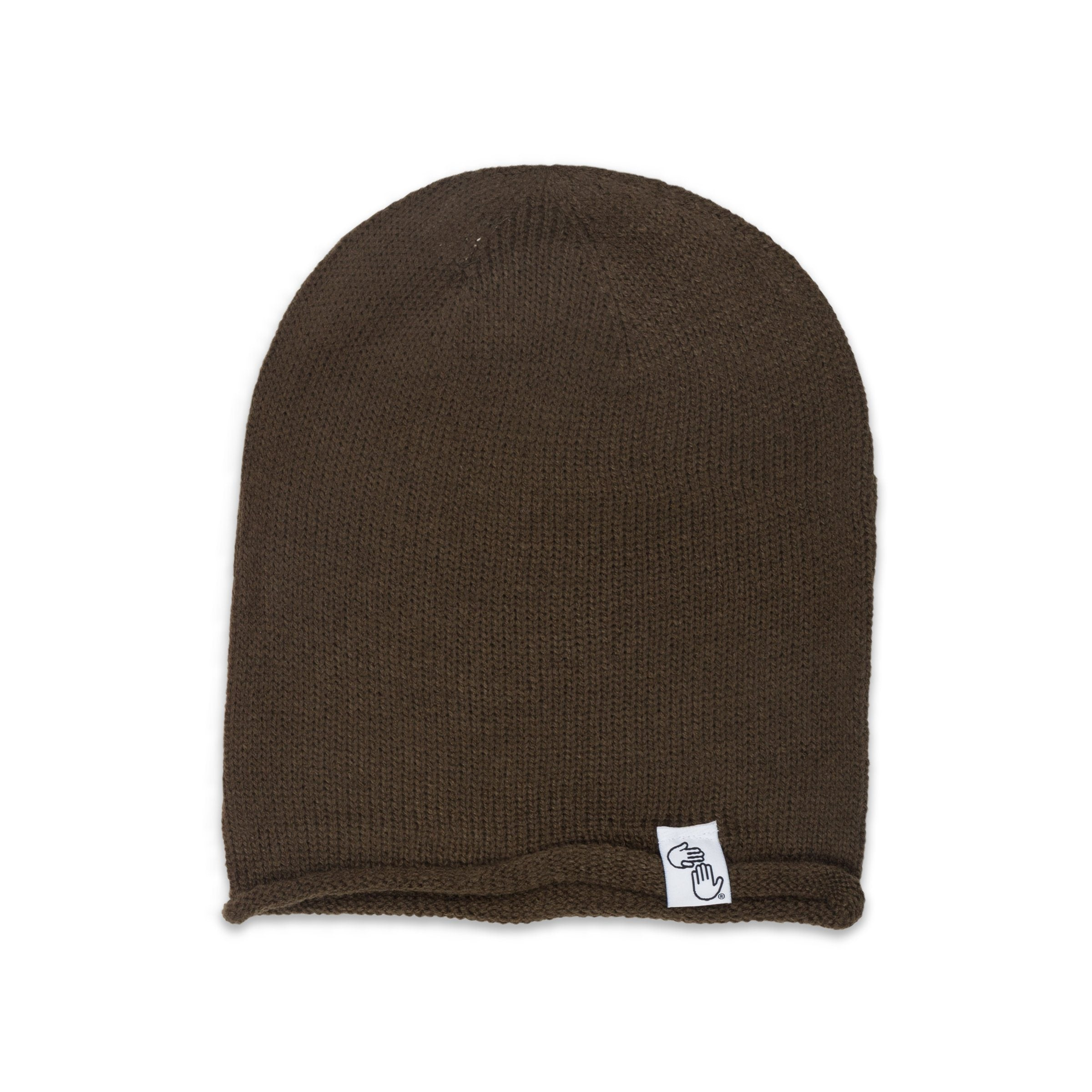 Oversized Knit Beanie (Olive) – High Five Threads d9c8b7fca22