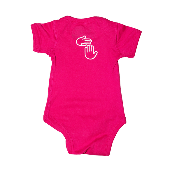 Made in Michigan Onesie (Pink)