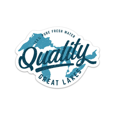 Quality Great Lakes Sticker