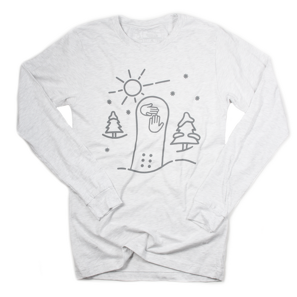 Snowboard Long Sleeve Tee