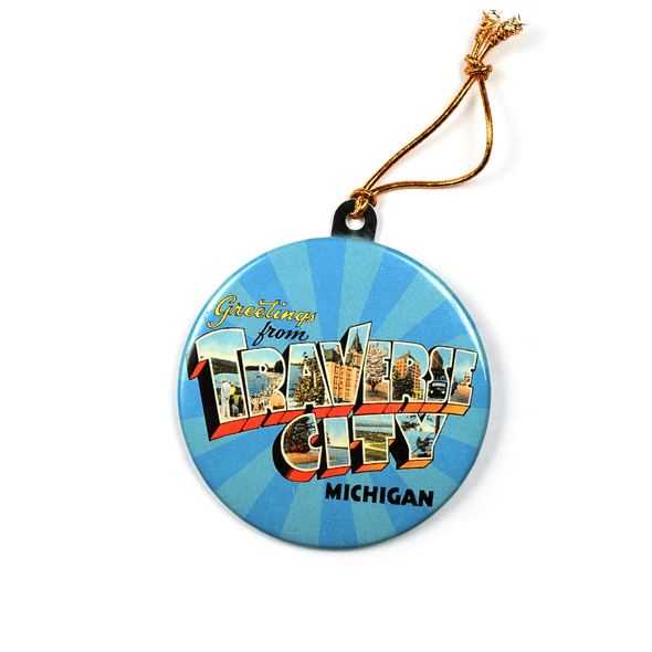 Vintage Traverse City Ornament