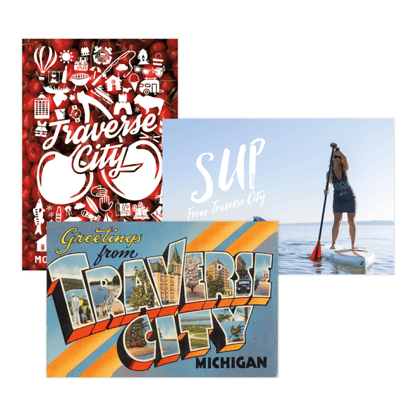 Traverse City Postcard Collection
