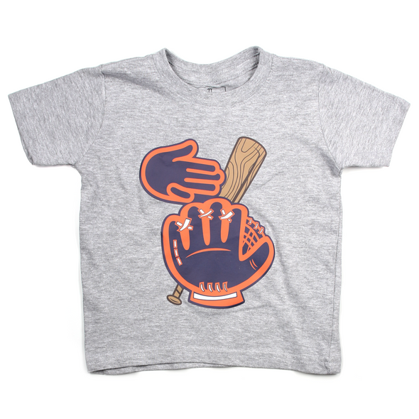 Baseball in the Mitt Toddler Tee