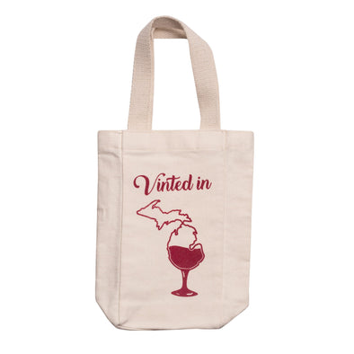 Vinted in Michigan Wine Tote