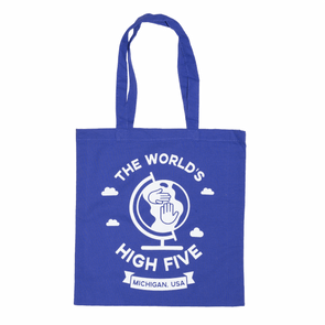 World's High Five Tote