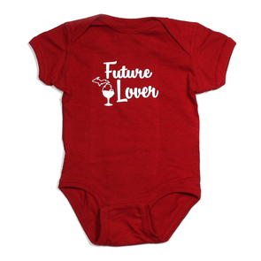 Future Michigan Wine Lover Onesie