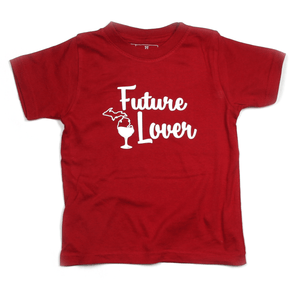 Future Michigan Wine Lover Toddler Tee