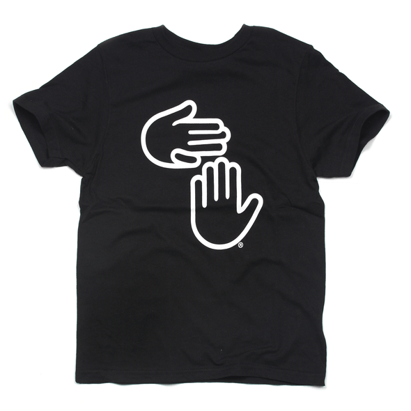 Michigan Hands Youth Tee (Black)