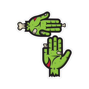 Zombie Hands Sticker