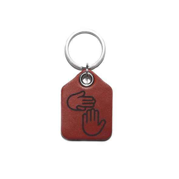 Leather Keychain (Standard)